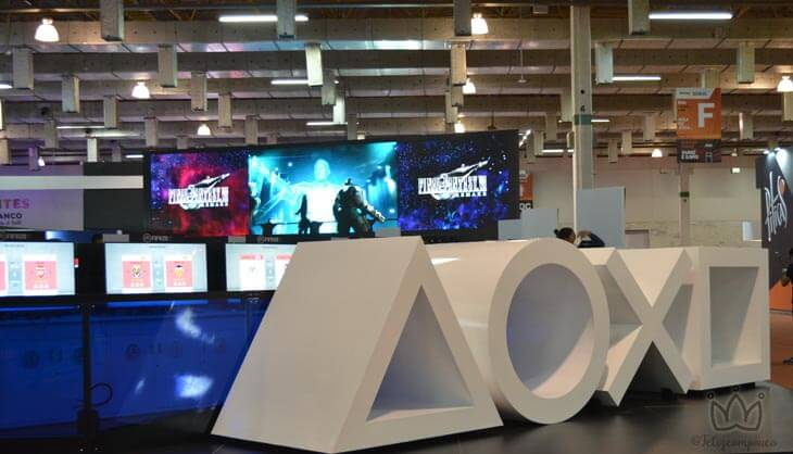 Estande #playstation na BGS 2019