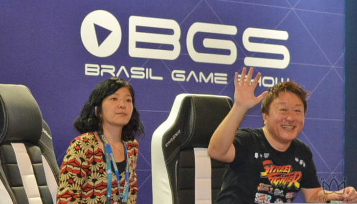Yoshinori Ono - Produtor do jogo Street Fighter na BGS 2018. #games