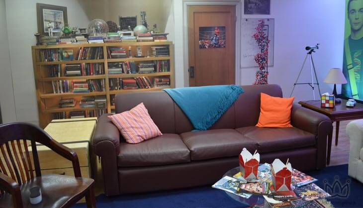 Sala do Sheldon e Leonard -The Big Bang Theory presente na #caswarner