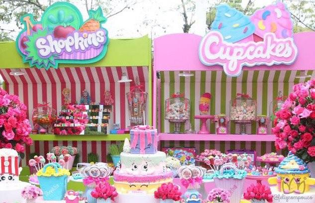 Festa Infantil Shopkins
