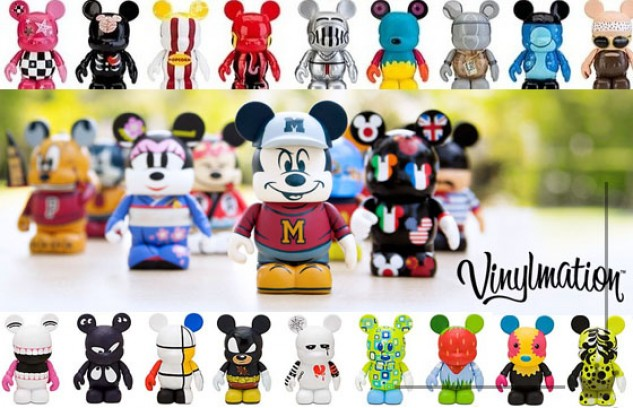 Vinylmation: o toy art amor da Disney