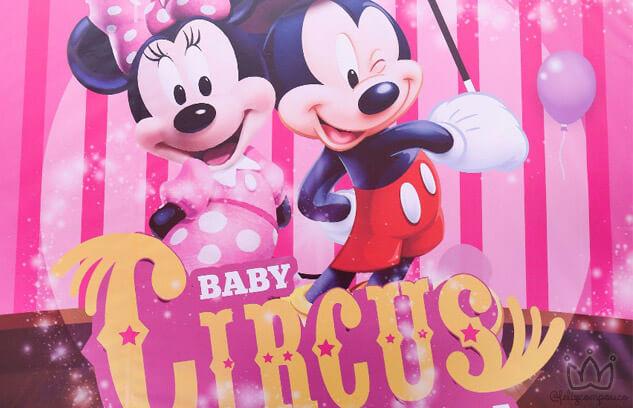 Baby Circus Disney | Um Espetáculo de Festa