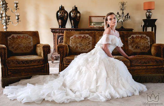 Fundo do Mar Inspira Estilista a criar sua nova coleção de Vestidos de Noiva