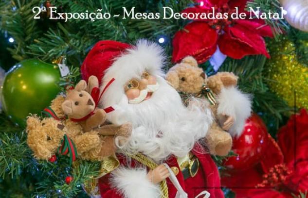 Exposição de Mesas Decoradas de Natal