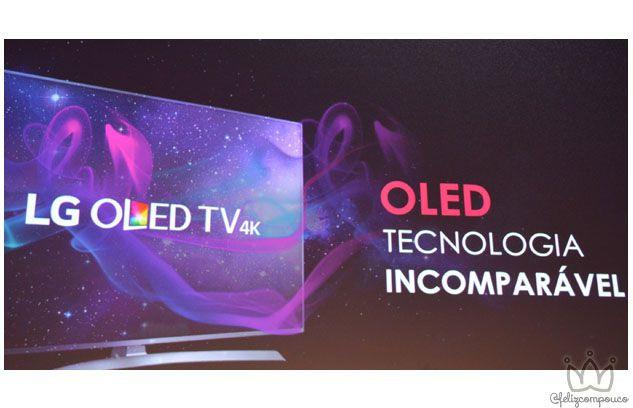 LG lança sua nova geração de TVs OLED no Brasil