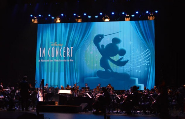 Disney In Concert no Teatro Bradesco