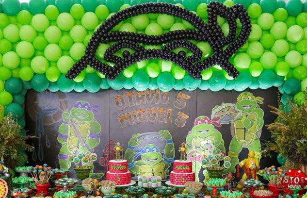 Tartarugas Ninjas | Festa Infantil