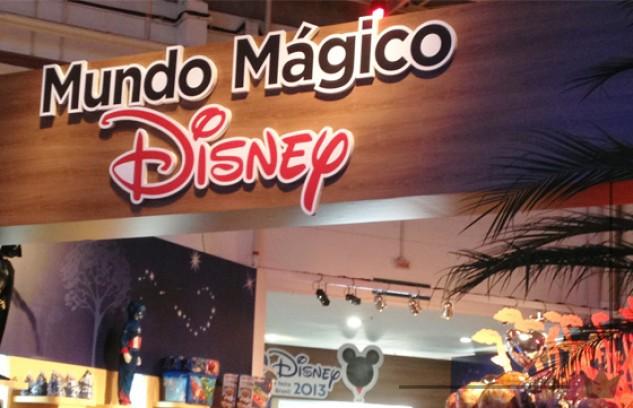 No mundo de negócios da Disney