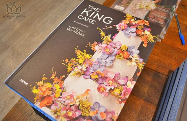 """The King Cake lança o livro """"A Arte de Confeitar"""" em SP"""