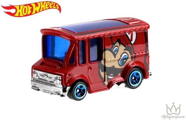 Hot Wheels lança carrinhos com os personagens do jogo Mario Bros