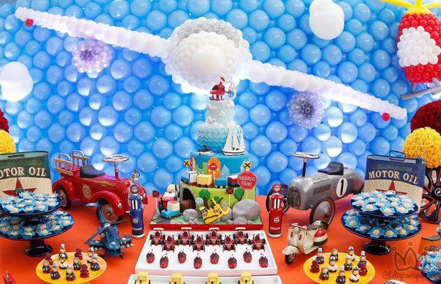 Festa Infantil com Tema Transportes