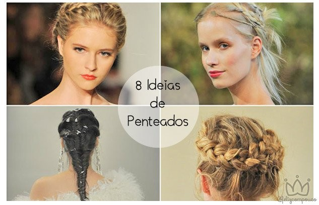 8 Ideias de Penteados para Noivas