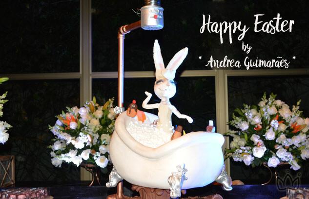 Andréa Guimarães reúne amigas em São Paulo para Comemorar a Páscoa
