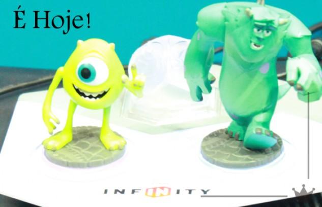 Chegou o grande dia: Disney Infinity