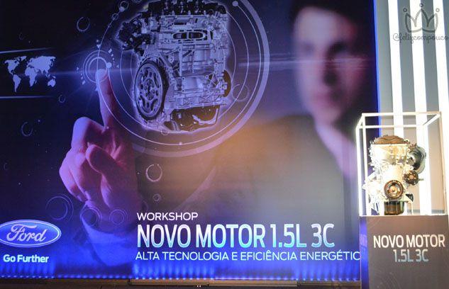 Ford lança Motor 1.5L 3C em evento exclusivo com a presença do Ministro da Indústria